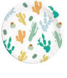 Cacti - Paper Plates 23 cm - 90552