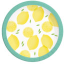 Lemons - Paper Plates 23 cm - 90570