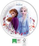 Frozen 2 Destiny Awaits Compostable - Paper Plates 23 cm Industrial Compostable FSC - 91146