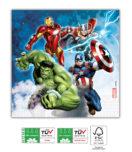 Avengers Fight Compostable - Three-Ply Napkins 33x33 cm FSC - 91903