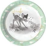 Bambi Cutie - Paper Plates Large 23cm - 89038
