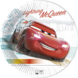 Decorata™ Compostable Cars High Speed - Industrial Compostable Paper Plates Large 23cm - 90816