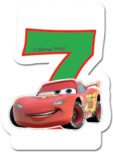 Cars The Legend of the Track - Candle No 7 - 82891