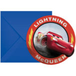 Cars The Legend of the Track - Die-cut Invitations & Envelopes - 89472