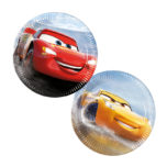 Cars The Legend of the Track - Paper Plates Medium 20cm (mixed designs in packet) - 89465