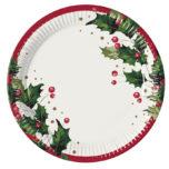 Christmas Comfort - Paper Plates Large 23cm - 86934