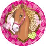 Horses - Paper Plates Large 23cm