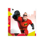 Incredibles 2 - Two-ply Paper Napkins 33x33cm - 89916