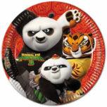 Kung Fu Panda - Paper Plates Large 23cm