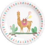 Llama - Paper Plates Large 23cm - 89629