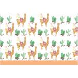 Llama - Plastic Tablecover 120x180cm - 89632