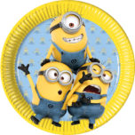 Lovely Minions - Paper Plates Large 23cm