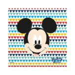 Mickey Awesome - Three-Ply Paper Napkins 33x33cm - 89905