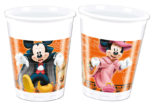 Mickey Halloween - Plastic Cups 200ml