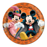 Mickey Halloween - Paper Plate Medium 20cm