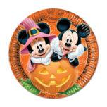 Mickey Halloween - Paper Plates Large 23cm