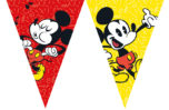 Mickey Super Cool - Triangle Flag Banner (9 Flags) - 89210