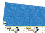 Mickey Super Cool - Plastic Tablecover 120x180cm