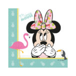 Minnie Tropical - Two-ply Paper Napkins 33x33cm - 89232
