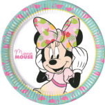 Minnie Tropical - Paper Plates Large 23cm - 89229