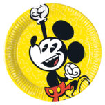 Mickey Super Cool - Paper Plates Medium 20cm - 89206