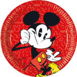 Mickey Super Cool - Paper Plates Large 23cm - 89205