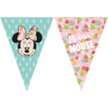 Minnie Tropical - Triangle Flag Banner (9 Flags) - 89234