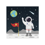 Outer Space - Two - Ply Paper Napkins 33x33 cm - 90297