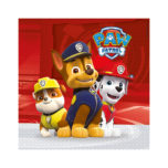 Paw Patrol Ready for Action! - Two-Ply Paper Napkins 33x33cm - 89777