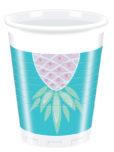 Pineapples - Plastic Cups 200ml
