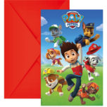Paw Patrol - Ready for Action! - Invitations & Envelopes - 89441