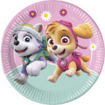 Paw Patrol Skye & Everest - Paper Plates Large 23cm - 90274