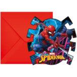 Spider-Man Team  Up - Die-Cut Invitations & Envelopes - 89453