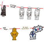 Star Wars Paper Cut - Garland Kit - 88992