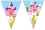 Unicorn - Triangle Flag Banner (9 Flags) - 85830