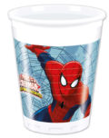 Ultimate Spider-Man Web Warriors - Plastic Cups 200ml - 85153