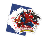 Ultimate Spider-Man Web Warriors - Die-cut Invitations & Envelopes - 85157