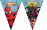 Ultimate Spider-Man Web Warriors - Triangle Flag Banner (9 Flags) - 85162