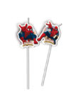 Ultimate Spider-Man Web Warriors - Medallion Flexi Drinking Straws - 85159