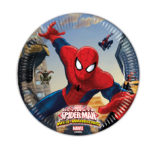 Ultimate Spider-Man Web Warriors - Paper Plates Medium 20cm - 85152