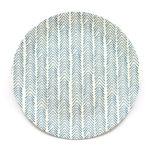 Decorata™ Bamboo Fiber Indigo Geo Set - Bamboo Fiber Plate 24cm - 90755