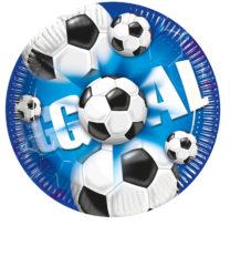 Football - Paper Plates 23 cm - 2077