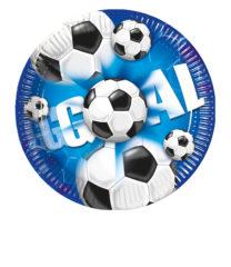 Football - Paper Plates 20 cm - 2379