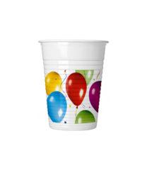Balloons Fiesta - Drinking Cups 200 ml - 4763