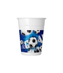 Football - Drinking Cups 200 ml - 4805