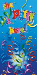 Party Streamers - Door Banner - 5621