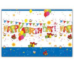 Happy Birthday Kokliko - Plastic Tablecover 120x180cm - 7258
