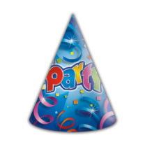 Party Streamers - Hats Prismatic - 8940