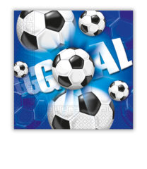 Football - Two-ply Paper Napkins 33x33 cm - 9632