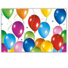 Balloons Fiesta - Plastic Tablecover 120x180cm - 9727